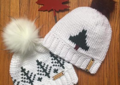crochet toques treehuggers farm gift store