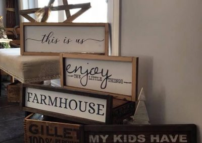 decorative frames treehuggers farm gift store