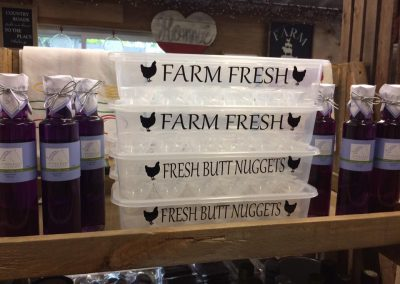 egg case farm fresh eggs thorndale treehuggers farm gift store
