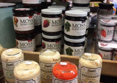 horsradish and jams treehuggers farm gift store